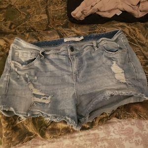 Torrid Jean shorts 18